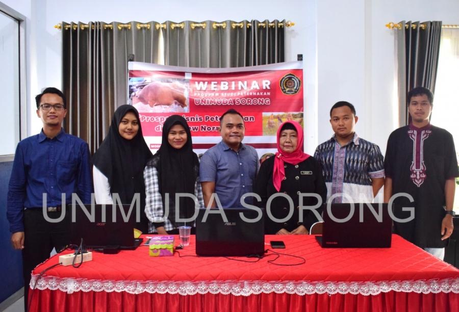 Program Studi Peternakan Selenggarakan Webinar Prospek Bisnis Peternakan di Era New Normal